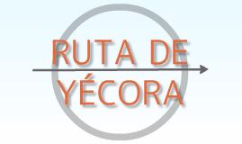 Copy of Ruta de Yécora