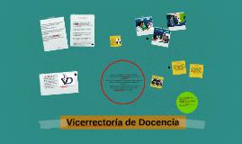 Vicerrectoría de Docencia