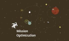 Mission Optimization
