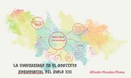 La Universidad en el contexto sociodigital del siglo XXI