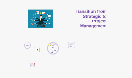 Transition from Strategic to Project Management