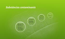 Substàncies contaminants
