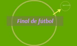 Final de fútbol