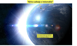 africa salvaje e indomable""