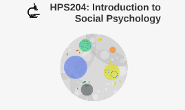 HPS204: Introduction to Social Psychology