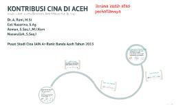 Copy of KONTRIBUSI CINA DI ACEH