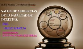PRESENTACION DE PROYECTO BASICO SALON DE AUDIENCIAS COCLÉ