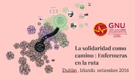 Copy of La solaridad como camino : Enfermeras  en la ruta
