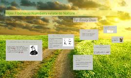 How Fibonacci Numbers relate to Nature