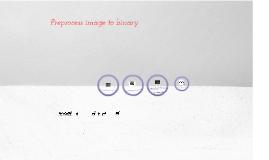 preprocess image