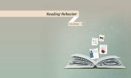 What is Reading Behavior?