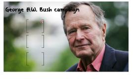 George H.W. Bush campaign