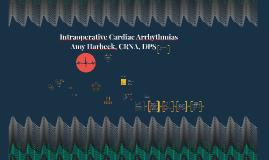 Intraoperative Cardiac Arrhythmias