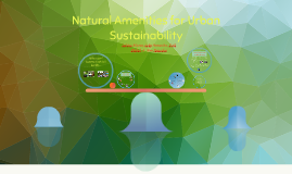 Natural Amenities for Urban Sustainability