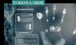 Copy of Copy of crime investigation