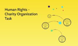 Human Rights - Charity Organization Task