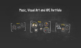 Music, Visual Art and HPE Portfoli