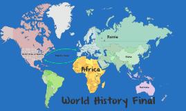 Semester 1 World History Final