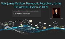 James Madison-1809