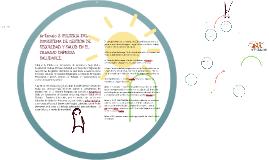 Copy of Copy of PROMOCION DE LA SALUD EN EL LUGAR DE TRABAJO