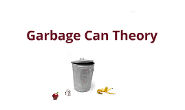 Copy of Garbage Can Theory