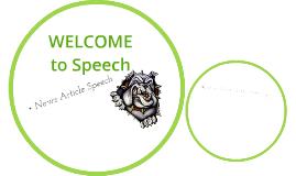 Part 4 News Article Speech