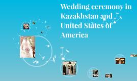 Wedding ceremony in Kazakhstan
