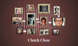 Chuck Close the Grid Artist