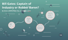 Copy of Bill Gates: Captain of Industry or Robber Baron?