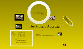 Children's voice - Mosaic Approach