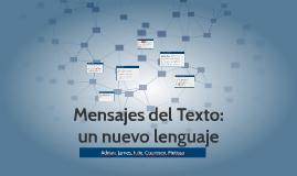 Mensajes del Texto