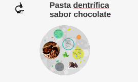 Pasta de dientes sabor chocolate