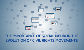 The importance of social media in the evolution of civil rig