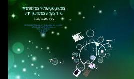 Copy of Modelos Pedagógicos Aplicados a las TIC