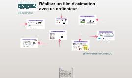 Réaliser un film d'animation avec un ordinateur