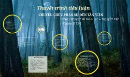 Copy of Thuyết trình tiểu luận