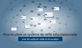 Mise en place un système de veille informationnelle