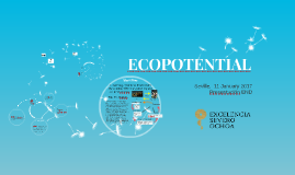 ECOPOTENTIAL (summary)