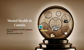 Mental Health in Canada