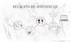 RELACIÓN DE APRENDIZAJE