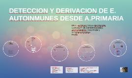 GUIA DE DERIVACION DE E. AUTOINMUNES DESDE A.PRIMARIA