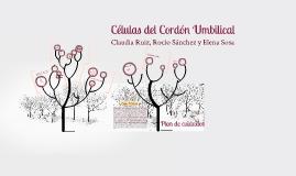 Copy of Células del Cordón Umbilical