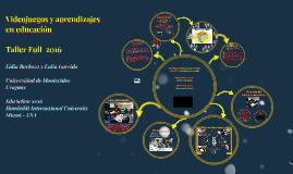 Videojuegos y aprendizajes en Educación