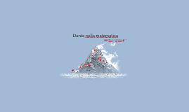 Dante nella matematica