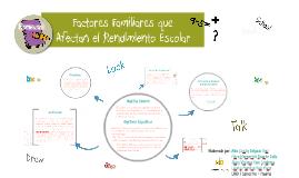 Copia de Factores Familiares que Afectan el Rendimiento Escolar