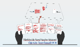 Türkiye'de Yerel Seçim Sistemi