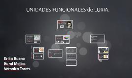 Copy of UNIDADES FUNCIONALES de LURIA.