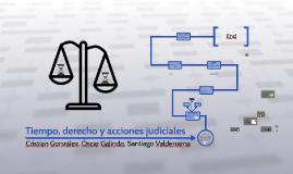 Tiempo, derecho, y acciones judiciales