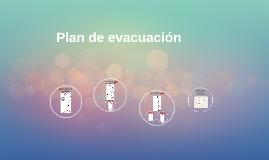 Plan de evacuacion, Jardin Las casitas