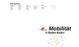 Projekt: e-Mobilität